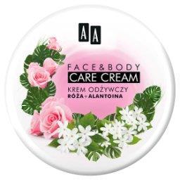 Face&Body Care krem odżywczy róża i alantoina125 ml