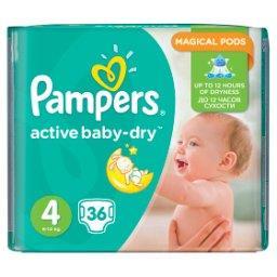 Active Baby-Dry rozmiar 4 (Maxi), 36 pieluszek