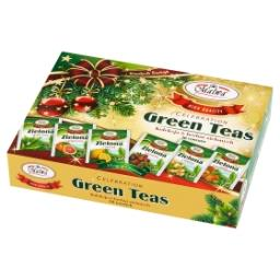 Celebration Green Teas Kolekcja 6 herbat zielonych 60 g (30 torebek)