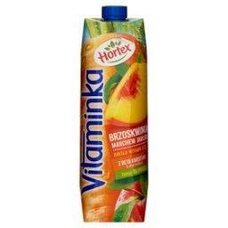 Vitaminka Brzoskwinia marchewka jabłko Sok 1 l