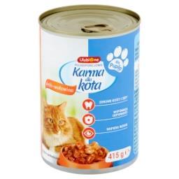 Pełnoporcjowa karma dla kota drób-wołowina