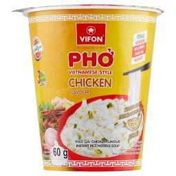 Wietnamska zupa Pho o smaku kurczaka