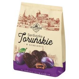 Pierniczki nadziewane w czekoladzie o smaku śliwkowym