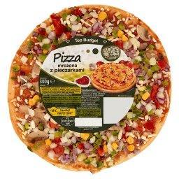 Pizza mrożona z pieczarkami