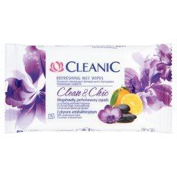 Clean and Chic Chusteczki odświeżające z płynem anty...