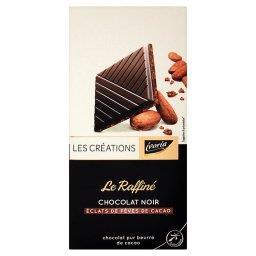 Czekolada z prażonymi i karmelizowanymi kawałkami ziarna kakaowego