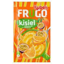 Kubek Frugo Kisiel z kawałkami owoców smak pomarańcz...