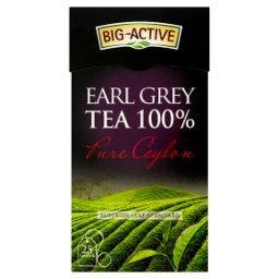 Pure Ceylon Earl Grey Herbata 100% 50 g (25 torebek)