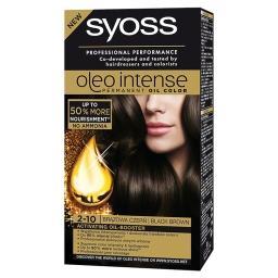 Oleo Intense Farba do włosów Brązowa czerń 2-10