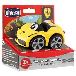 Mini turbo touch Ferrari amarelo