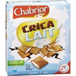 Cereais crica milk leite