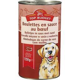 Alimento húmido para cão, Almôndegas de Carnes