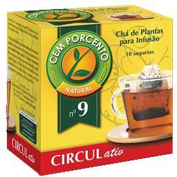 Chá infusão nº9 circul activ