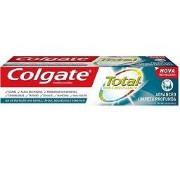 Pasta de dentes total limpeza profunda