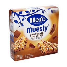 Barra muesly chocolate leite