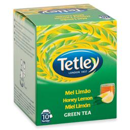 Chá de mel, limão e ginseng