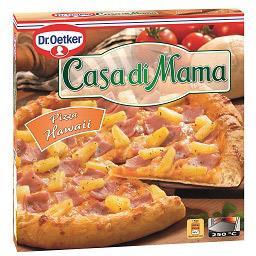 Pizza casa di mama hawai 400g