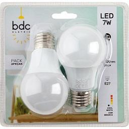 Lâmpada LED Clássic A: 7W E27, 9W E27 - Classe A++
