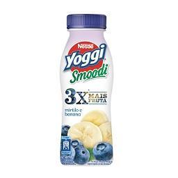 Yoggi iogurte liquido smoodi mirtilo banana