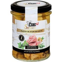 Filetes de atum dos Açores em azeite c/ ervas proven...