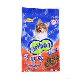 Alimento seco para gato, vaca/vegetais