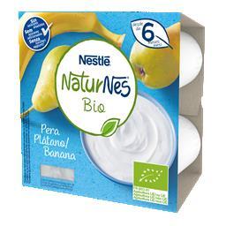 Alimentação láctea pera/banana bio