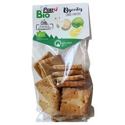 Biscoitos bio limão e matcha