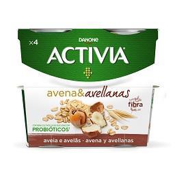 Iogurte Activia aveia e avelã