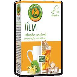 Chá solúvel tilia
