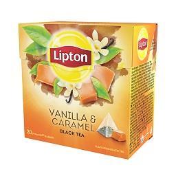 20 saquetas chá de baunilha c/ caramelo