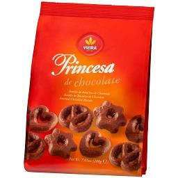 Bolacha princesa chocolate