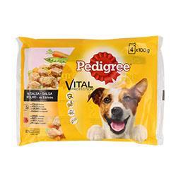 Alimento húmido para cão saquetas