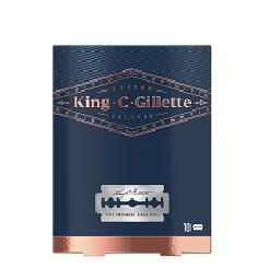Carregador King Duplo Gume, 10 unidades