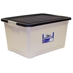 Caixa de arrumação reciclada
