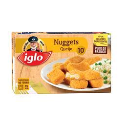 10 nuggets peito de frango e queijo