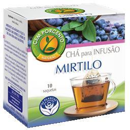 Chá infusão mirtilo