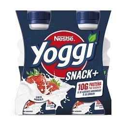 Iogurte Líquido Yoggi Snack+ morango