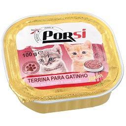 Comida húmida para gatinhos com frango e leite