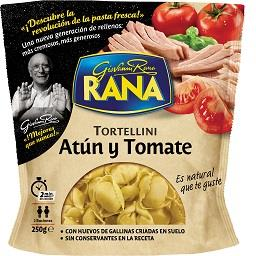 Tortellini atum e tomate