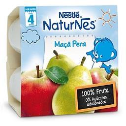 Fruta para bebé maçã pera +4 meses