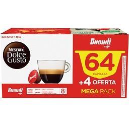 Café em cápsulas Dolce Gusto Buondi