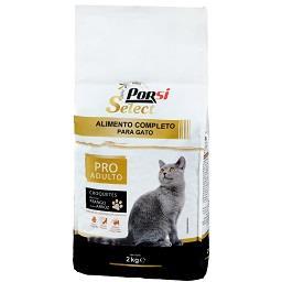 Alimento seco p/ gato pro adulto