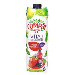 Néctar vital equilibrio frutos vermelhos