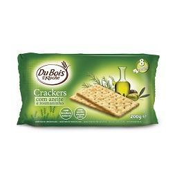 Bolachas crackers azeite e rosmaninho