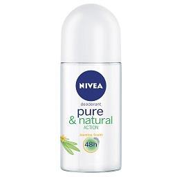 Desodorizante Pure & Natural Roll-On