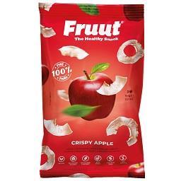 Snack de maçã vermelha doce