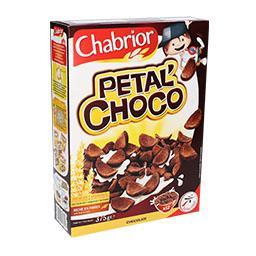 Cereais petalas de chocolate