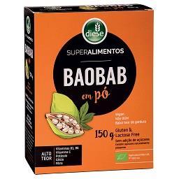 Farinha baobab em pó