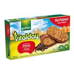 Bolachas vitalday recheio avelã