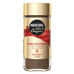 Café gold colômbia frasco